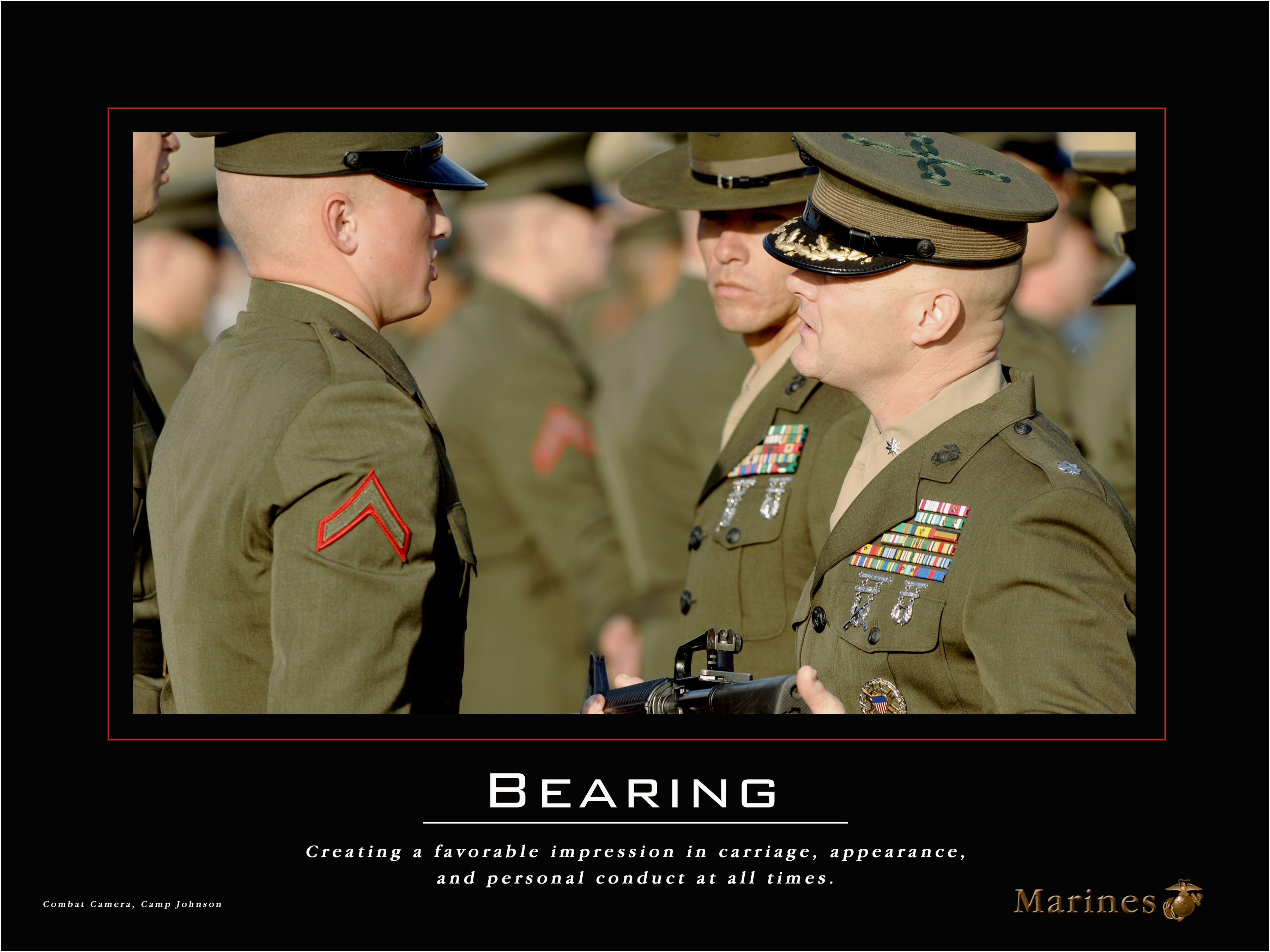marines and leadership The marine corps defines leadership as: the sum of traits, which include intellect, human understanding, and moral integrity, that enables individuals to inspire and guide a group of individuals as a coach, you will rarely force someone into being a successful leader or player - you must enable someone to become a high-performing individual.