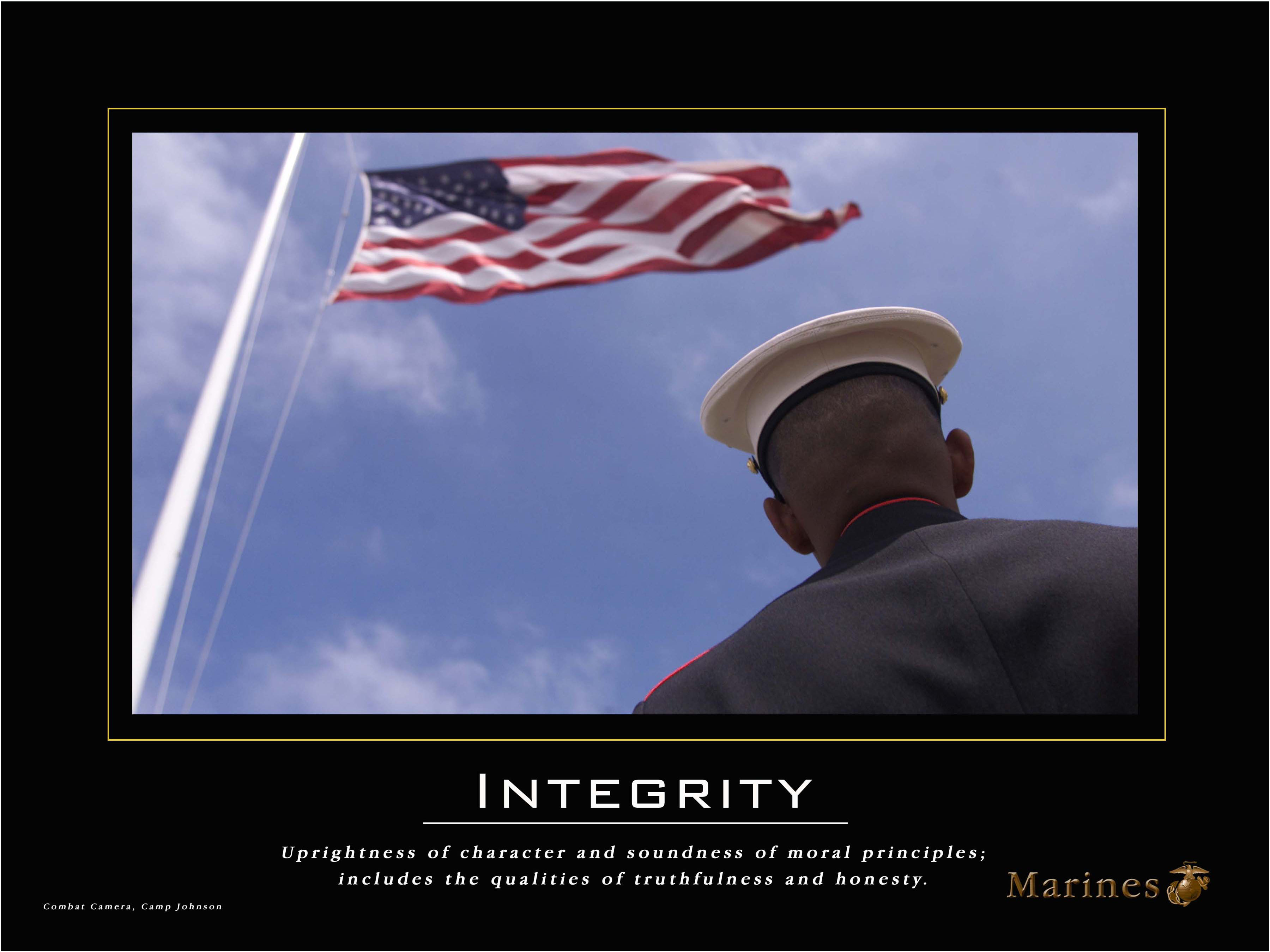 Famous Marine Corps Quotes Leadership Posters