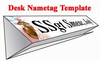 nametag - Mcmap Certificate Template