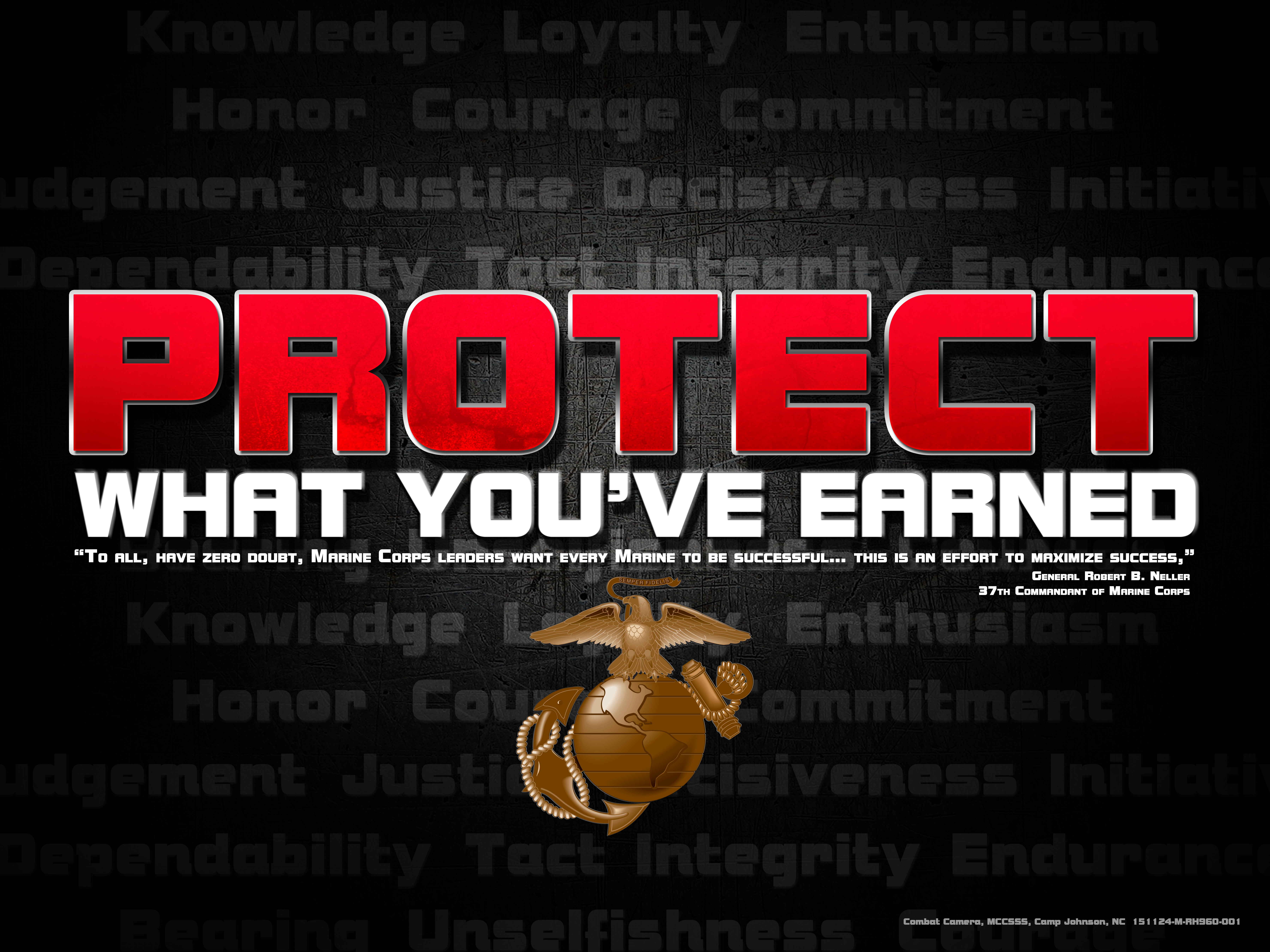 Protect what youve earned posters target audience marines pwye poster magicingreecefo Choice Image